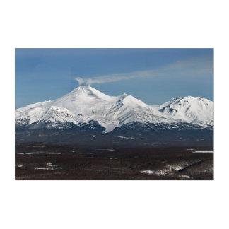 Winter view of active Avacha Volcano in Kamchatka Acrylic Print