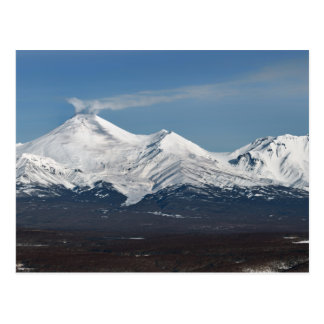 Winter view of Avacha Volcano in Kamchatka Postcard