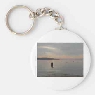 Winter view of Poole Harbour. Key Ring