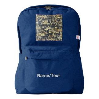 Winter Village Backpack