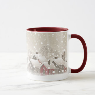 Winter Village Combo Mug
