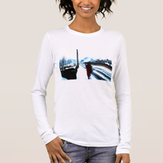 Winter Watercolour Long Sleeve T-Shirt