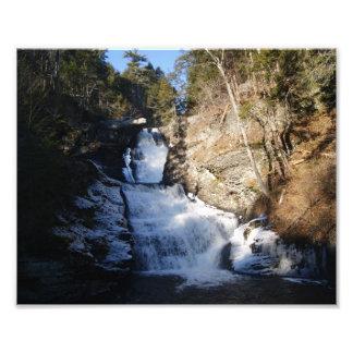 Winter Waterfall 10x8 Photographic Print