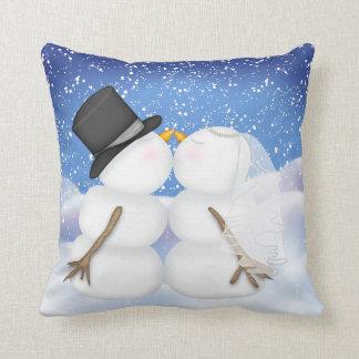 Winter Wedding Pillow