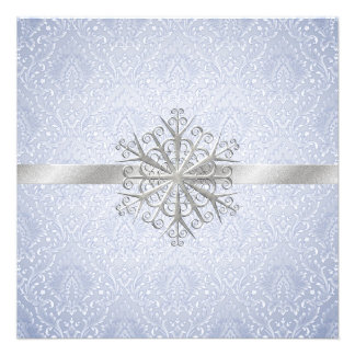 Winter Wedding Rehearsal Dinner Invitation