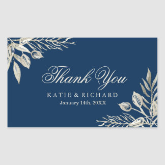 Winter Wedding Thank You Stickers