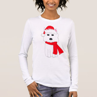 Winter Westie Long Sleeve T-Shirt