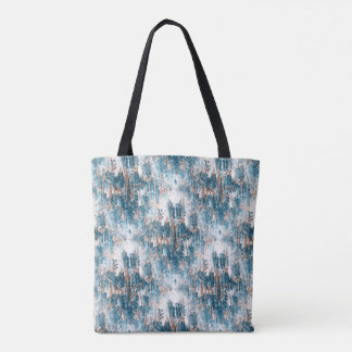 Winter wildflowers.... tote bag