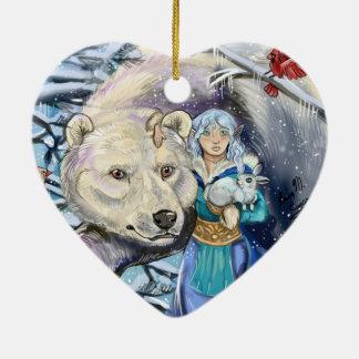 Winter Winds Polar Bear~ornament Christmas Ornament
