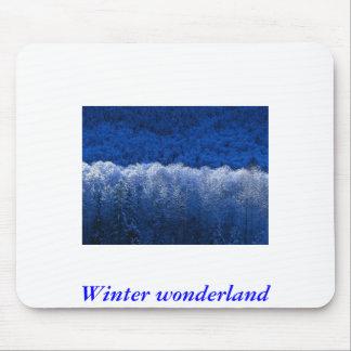 Winter, Winter wonderland Mouse Pad