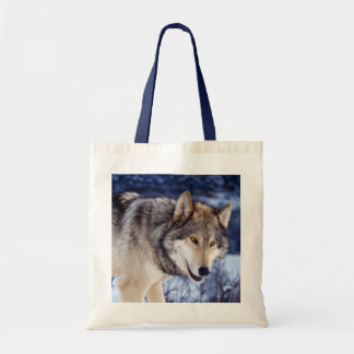 Winter Wolf 2 Tote Bag