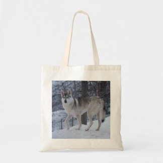 Winter wolf bag