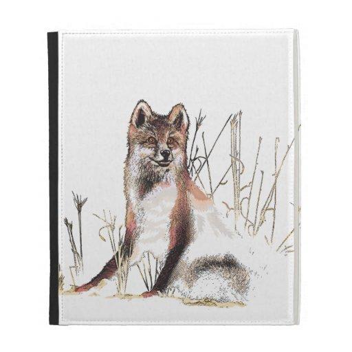 Winter Wolf iPad Folio Cases