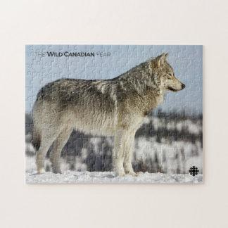 Winter - Wolf Jigsaw Puzzle