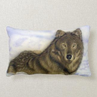 Winter Wolf Lumbar Cushion