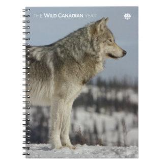 Winter - Wolf Notebook