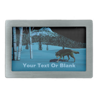 Winter Wolf - Tapetum Lucidum Belt Buckle