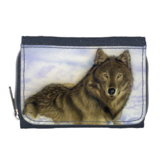 Winter Wolf Wallet