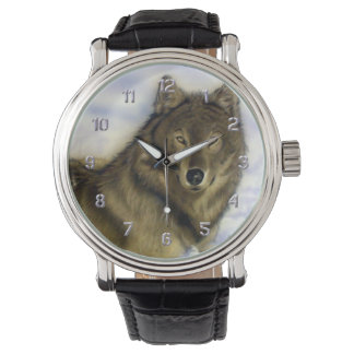 Winter Wolf Wristwatch