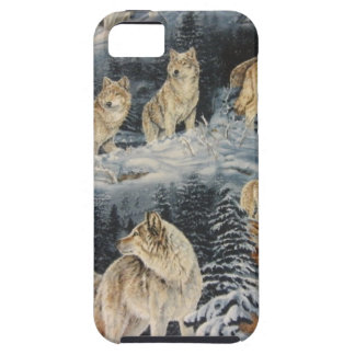 Winter Wolves iPhone 5 Cover