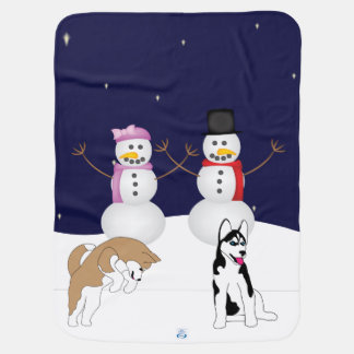 Winter Wonderland Baby Blanket