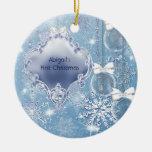 Winter Wonderland Blue Ice Baby's First Christmas