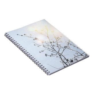 Winter Wonderland by Uname_ Spiral Notebook