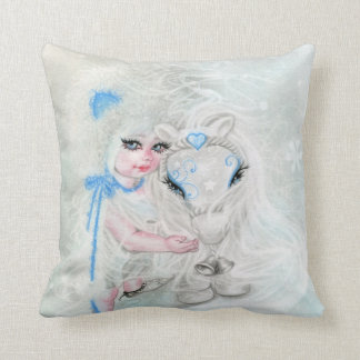 Winter Wonderland   Chibi  Girl Pony Pillow