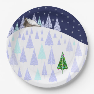 Winter Wonderland Christmas Plate