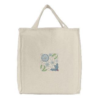 Winter Wonderland Embroidered Bag