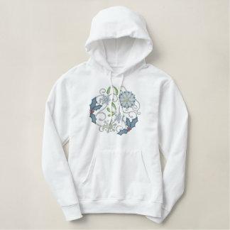 Winter Wonderland Embroidered Hoodie