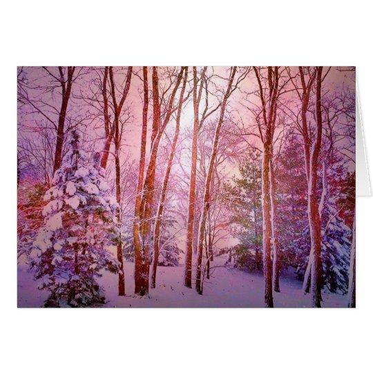 Winter Wonderland Iowa Style Greeting Card