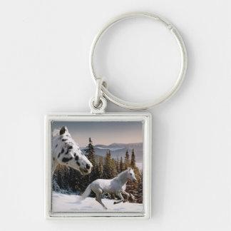 Winter Wonderland Key Ring