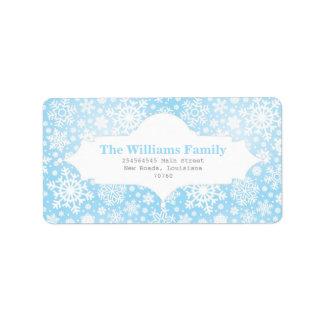 Winter Wonderland Label