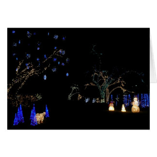 Winter Wonderland Lights Card