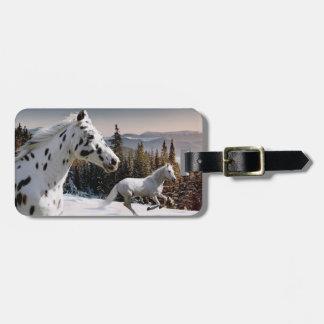Winter Wonderland Luggage Tag