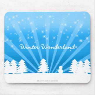 Winter Wonderland Mouse Pad