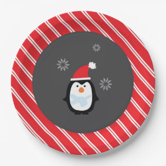 Winter Wonderland Paper Plate- Penguin Plates 9 Inch Paper Plate