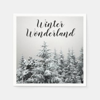 Winter Wonderland Party Napkins