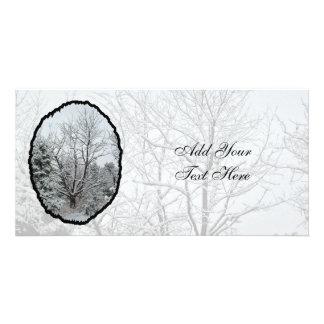 Winter Wonderland Photo Card Template