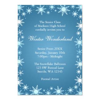 Winter Wonderland Prom Invitations