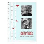 Winter Wonderland Season's Greetings 13cm X 18cm Invitation Card