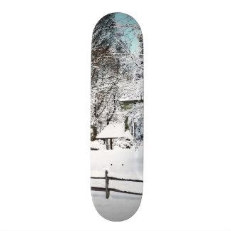 Winter Wonderland Skateboard Deck