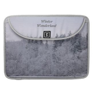 Winter Wonderland Sleeves For MacBook Pro