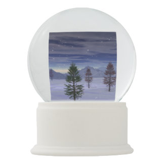 Winter Wonderland Snow Globe