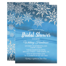Winter Wonderland Snowflake Bridal Shower