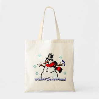 Winter Wonderland Snowman Gift Bag