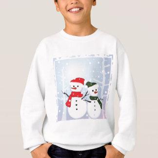 Winter Wonderland Snowman Our First Christmas Sweatshirt
