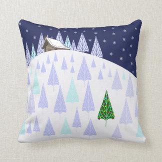 Winter Wonderland Throw Cushion