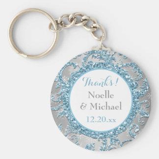 Winter Wonderland Wedding Favor Key Chain 2